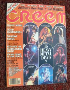 Creem heavy metal