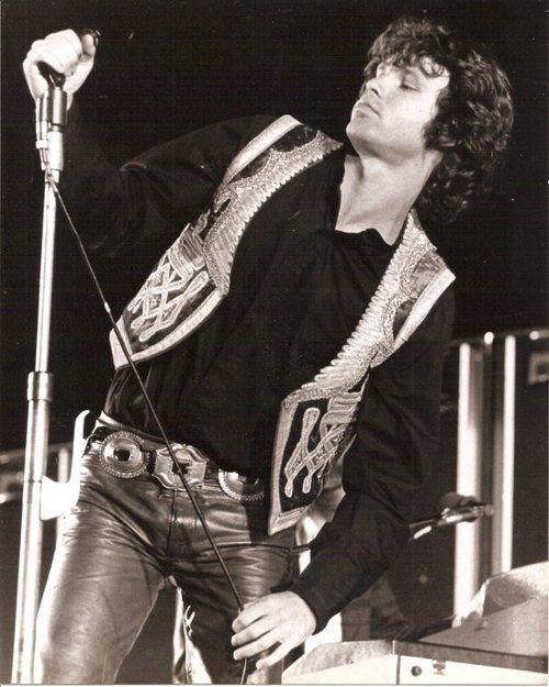 Morrison on stage